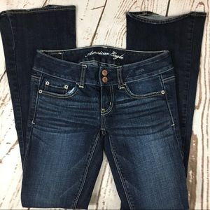 🌺 American Eagle Slim Bootcut stretch Jeans 0